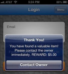 FinderCodes app