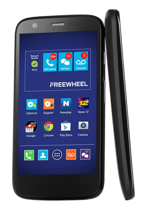 Motorola Moto G phone on the Freewheel network