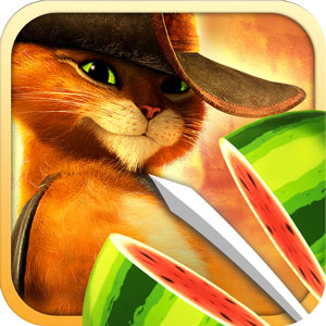 Fruit Ninja: Puss in Boots app for Android