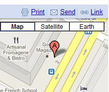 google maps send to car