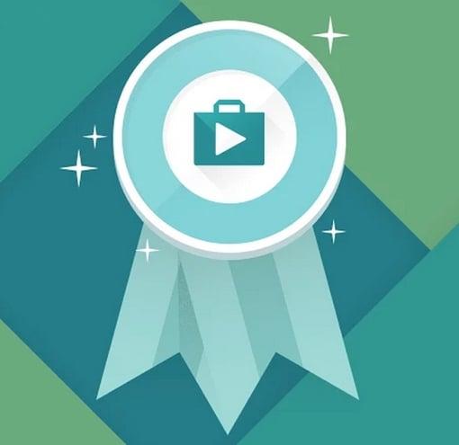 Google Play Best of 2014 ribbon