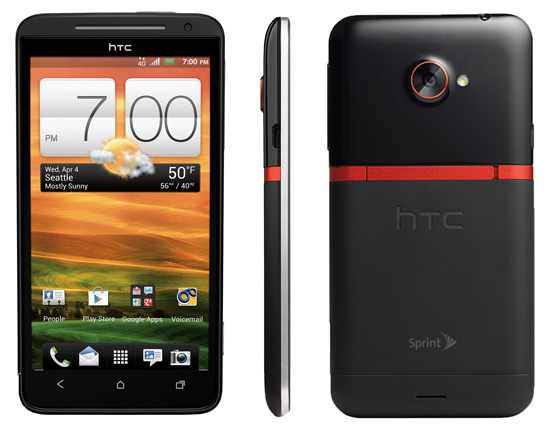 review of the htc evo 4g lte sprint techlicious rh techlicious com Sprint HTC EVO 4G Size Sprint HTC EVO 4G Battery