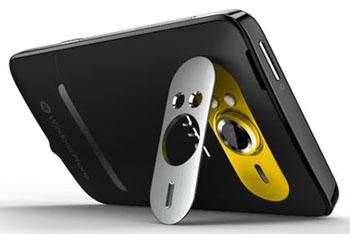HTC HD7 kickstand