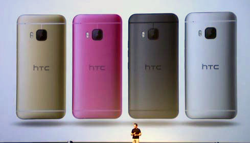 HTC One M9 colors