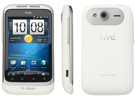 HTC Wildfire S white