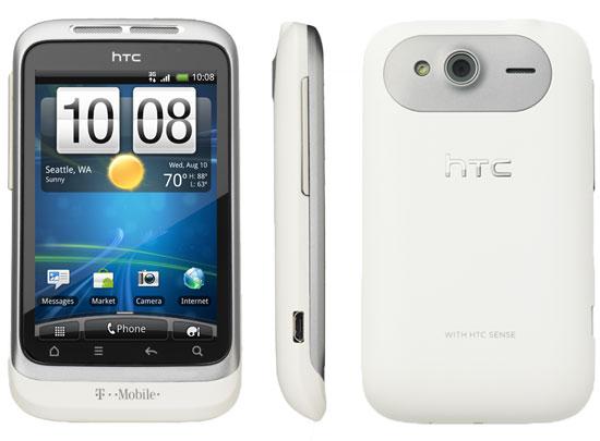 HTC Wildfire S white