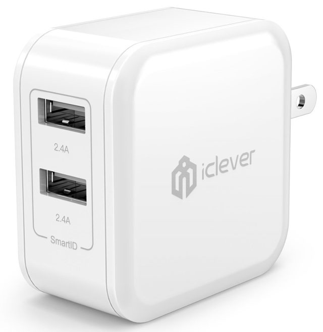 Lightning-speed charging: iClever BoostCube 4.8A