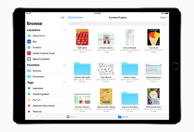 iOS 11: Keep track of your files