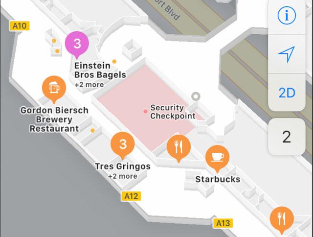 Indoor maps - iOS 11