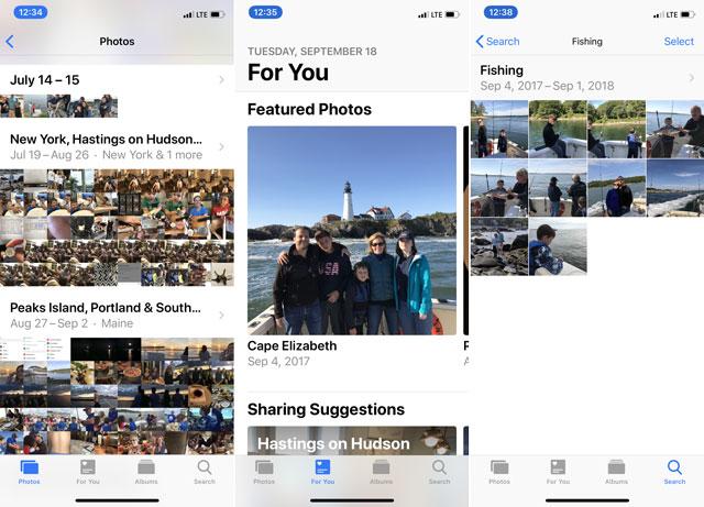 iOS 12 Photos
