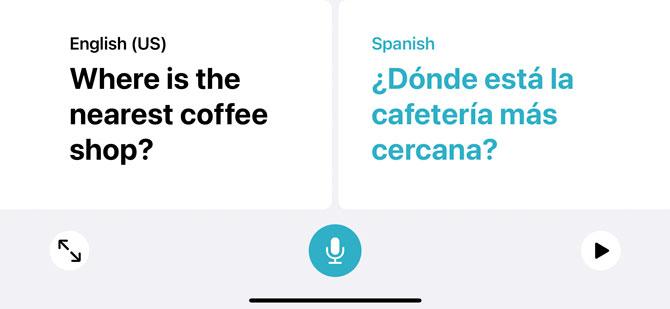 iOS 14 Translate