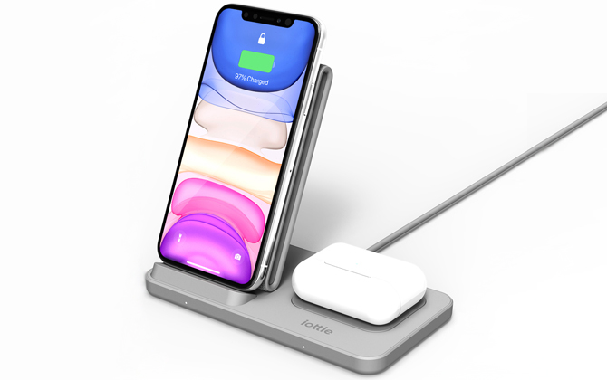 iOttie iON Wireless Duo Stand