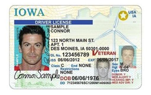 Iowa Driver License