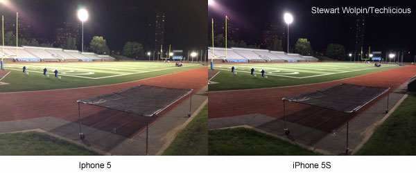 iPhone 5 vs iPhone 5S low light comparison