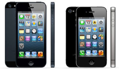 iPhone 5 and iPhone 4S
