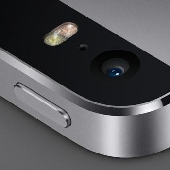 iPhone 5S close-up