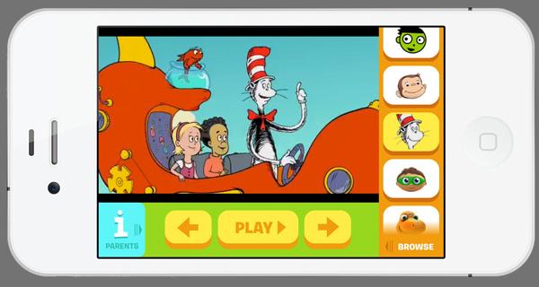Cat in the Hat PBS Kids app