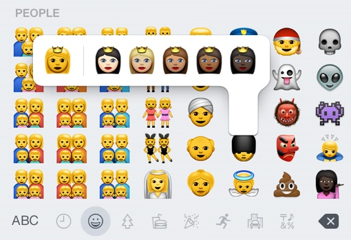 New emoji available in iOS 8.3