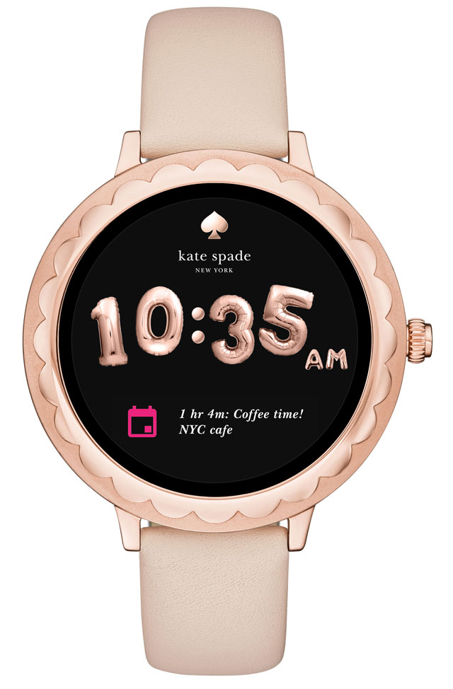 For the Fashionista: Kate Spade New York Scallop Smartwatch