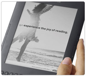 Amazon Kindle Visa ad