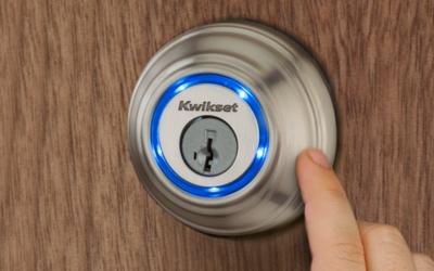 Kwikset Kevo lock