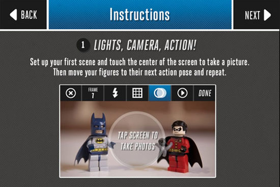 LEGO super hero movie maker