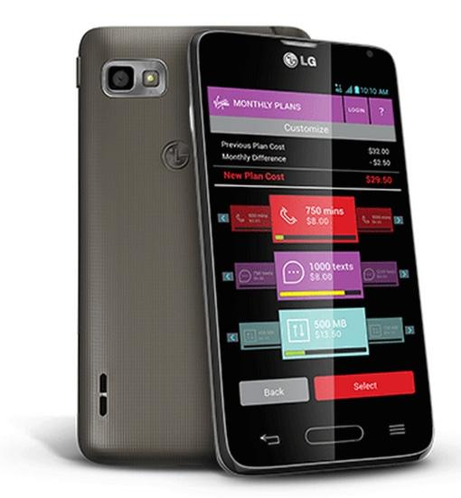 LG Unify 4G LTE phone for Virgin Mobile Custom