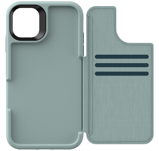 An accessible wallet case: Lifeproof FLiP