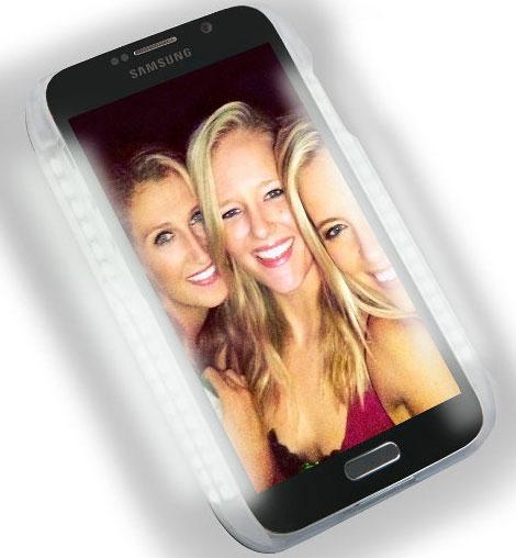LuMee Illuminated case for Samsung Galaxy S6