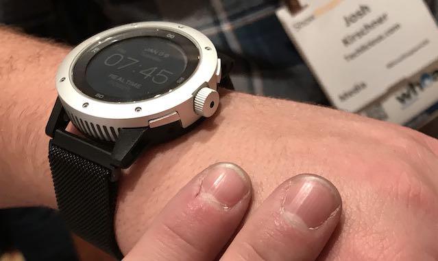 Techlicious Picks CES 2018: Matrix PowerWatch X Smartwatch