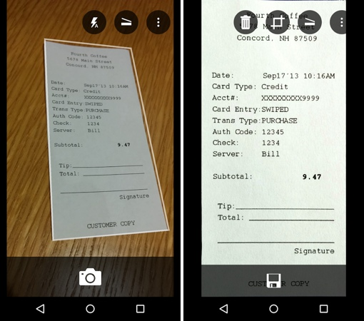Microsoft 'Office Lens' App Turns Smartphones Into