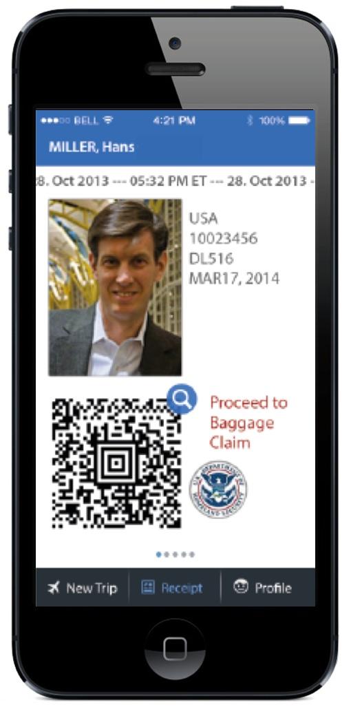 Mobile Passport Control App (iOS)