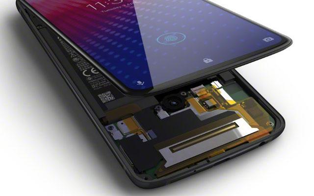 Motorola Moto Z4 fingerprint reader