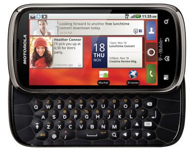 Motorola Cliq 2 keyboard