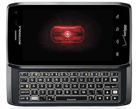 Motorola Droid 4 keyboard