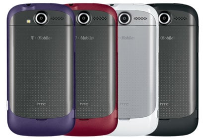 T-Mobile myTouch 4G colors