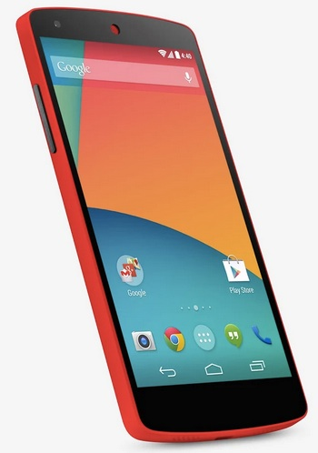 Nexus 5 Red