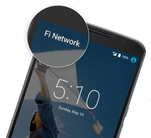 Motorola Nexus 6 with Google Project Fi service