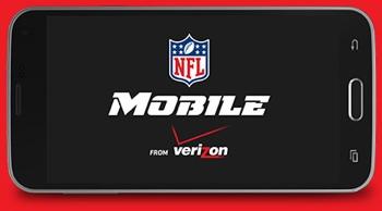 NFL Mobile app from Verizon