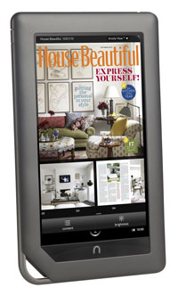 NOOK color newsstand