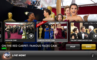 Oscar Backstage Pass app