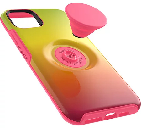 For a pop-out grip: Otterbox Otter + Pop Symmetry Series