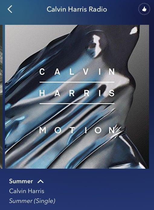 Pandora screenshot