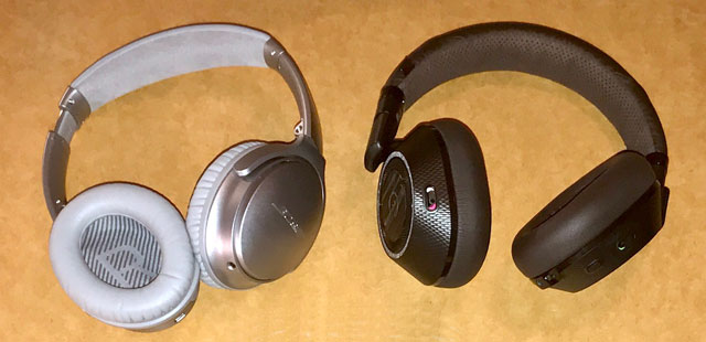 Hands on: Plantronics BackBeat PRO 2 vs. Bose QuietComfort 35