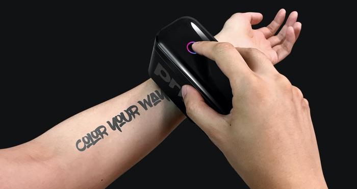 Temporary Tattoos Go High Tech with Prinker