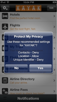 Nearly Half of iOS Apps Violate Apple's Privacy Policy