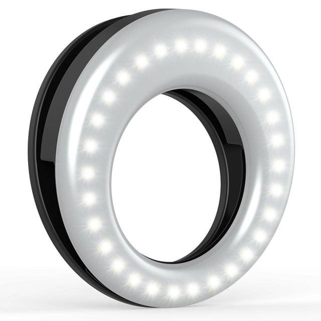 Auxiwa clip-on selfie ring light