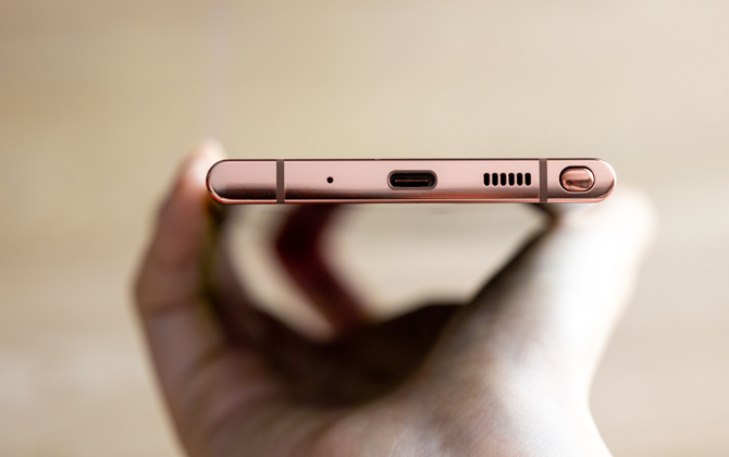 Samsung Galaxy Note20 port