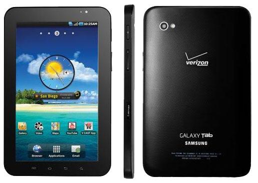 Samsung Galaxy Tab  for Verizon