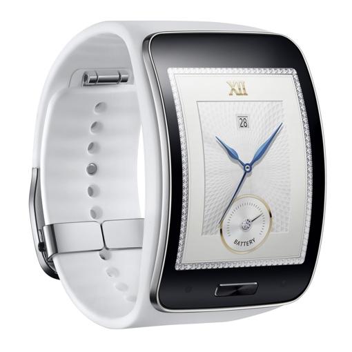 Samsung Gear S in white